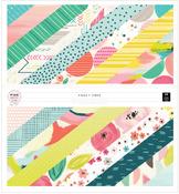 Fancy Free 12 x 12 Paper Pad - Pink Paislee