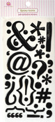Punctuation Epoxy Icon Stickers - Queen & Co