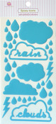 Clouds Epoxy Icon Stickers - Queen & Co