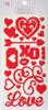 Love Epoxy Icon Stickers - Queen & Co