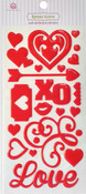 Love Epoxy Icon Stickers - Queen & Co