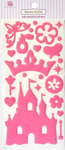 Princess Pink Epoxy Icon Stickers - Queen & Co