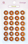 Orange Donuts Stickers - Queen & Co