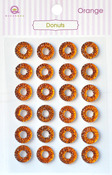 Orange Donuts Stickers - Queen & Co