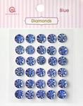 Blue Diamonds Stickers - Queen & Co