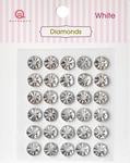 White Diamonds Stickers - Queen & Co