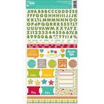 Mushroom Medley Cardstock Stickers - Jillibean Soup