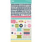 Healthy Hello Cardstock Sticker Sheet - Jillibean Soup