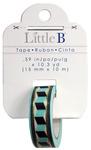 Accordion Tribal Gold Foil Washi Tape - Little B