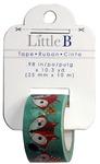 Fox Head Gold Foil Washi Tape - Little B