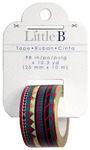 Tribal Gold Foil Washi Tape - Little B
