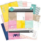 Hello Today 12x12 Paper Pad - Heidi Swapp