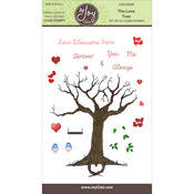 """Love Tree - Joy Clair Clear Stamps 4""""X6"""""""