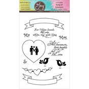 """Song Of Solomon - Joy Clair Clear Stamps 4""""X6"""""""