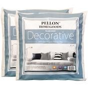 """18""""X18"""" FOB: MI - Decorative Pillow Insert Twin Pack"""