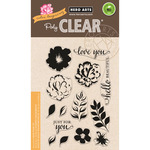 """Color Layering For You Flowers - Hero Arts Clear Stamps 4""""X6"""""""
