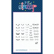 "Fun Faces 2 - Your Next Stamp Clear Stamps 3""X4"""