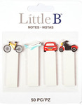 Transportation Stationery Tabs - Little B