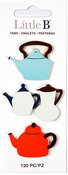 Teapots  Stationery Tabs - Little B