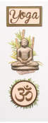 Yoga Mini Stickers - Little B