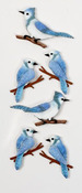 Blue Jays Mini Stickers - Little B