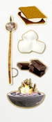 S'Mores Mini Stickers - Little B