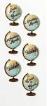 Globe Sentiments Mini Stickers - Little B