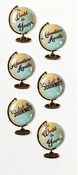 Globe Sentiments Mini Stickers - Little B