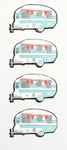 Campers Mini Stickers - Little B