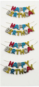 Happy Birthday Mini Stickers - Little B
