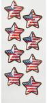 US Flag Stars Mini Stickers - Little B