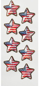 US Flag Stars Mini Stickers - Little B