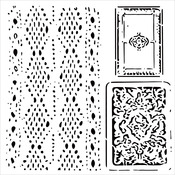 """Cards And Lace - Crafter's Workshop Template 6""""X6"""""""
