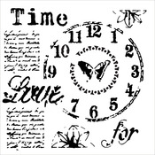 """Time For Love - Crafter's Workshop Template 6""""X6"""""""