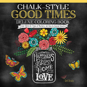 Chalk-Style Good Times Coloring Book - Design Originals