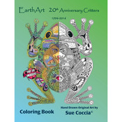 20th Anniversary Critters - EarthArt Coloring Book