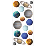 Planets - Paper House Puffy Stickers