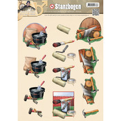 Tools - Find It Trading Amy Design It's A Mans World Punchout Sheet