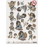 Find It Trading Amy Design Brocante Christmas Punchout Sheet