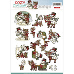 Find It Trading Yvonne Creations Cozy Christmas Punchout