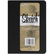 """Black - Pro Art Softcover Sketch Journal 4""""X6"""""""