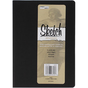 "Black - Pro Art Softcover Sketch Journal 5""X8"""