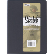 "Blue - Pro Art Softcover Sketch Journal 5""X8"""