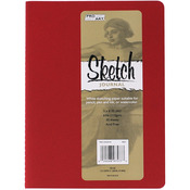 """Red - Pro Art Softcover Sketch Journal 5""""X8"""""""