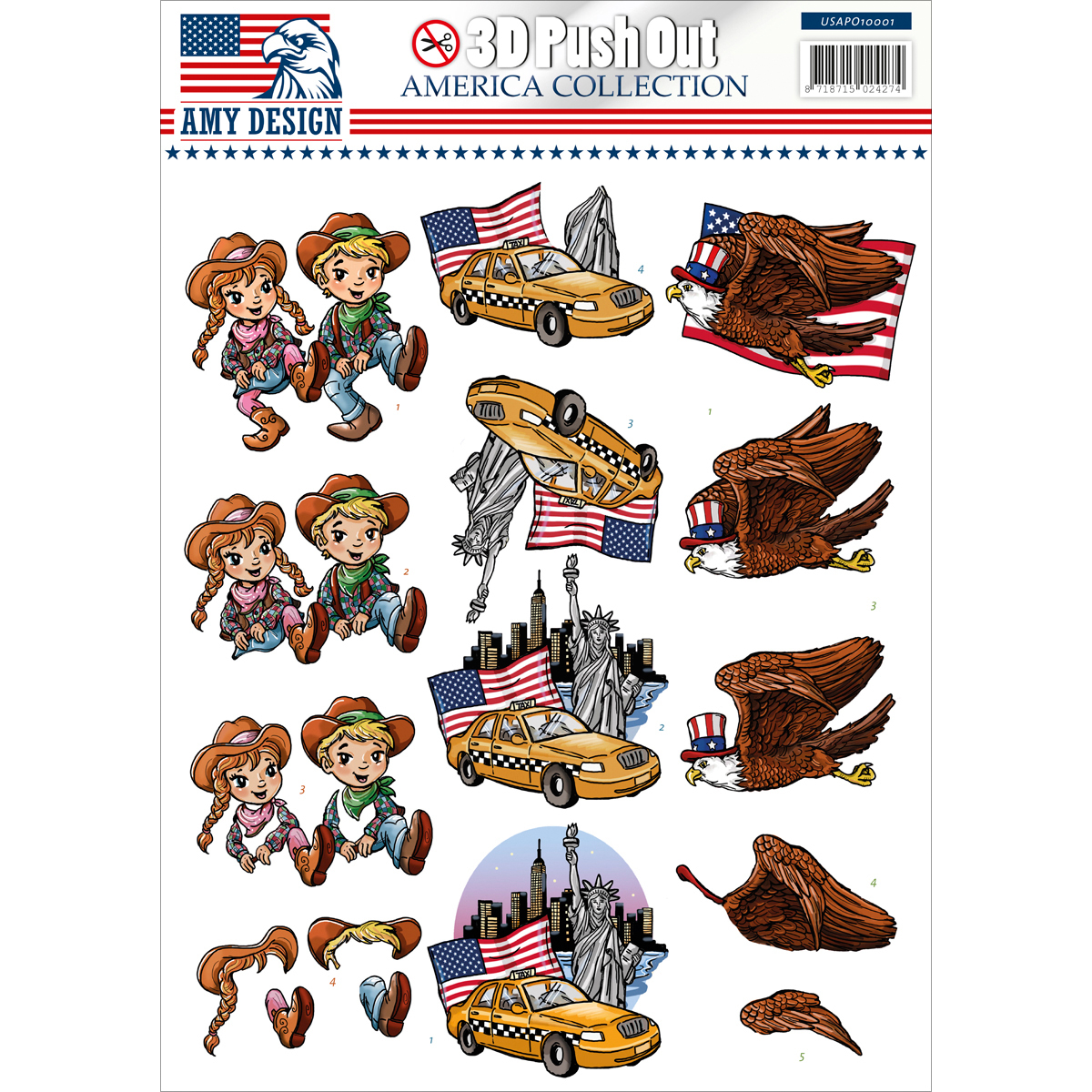 Find It Trading Amy Design America Punchout