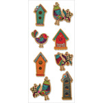"Birdhouse - MultiCraft Kraft Paper Elements 3""X6.5"" Sheet"