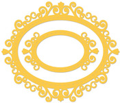 Oval Vintage Frames Dies - KaiserCraft