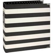 Black Stripe 6 x 8 Album - Snap - Simple Stories