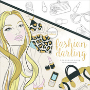 Fashion Darling - KaiserColour Perfect Bound Coloring Book