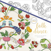 Folk Dance - KaiserColour Perfect Bound Coloring Book